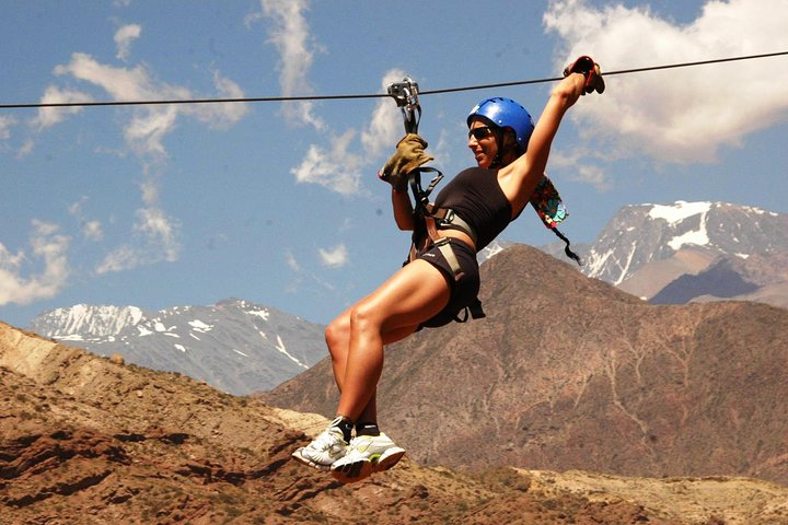 Zipline Adventure from Mendoza in Potrerillos Valley, Mendoza, ARGENTINA
