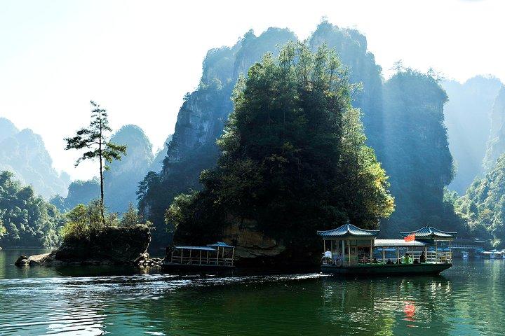 Excursión privada: Puente de cristal y lago Baofeng desde Zhangjiajie, Zhangjiajie, CHINA