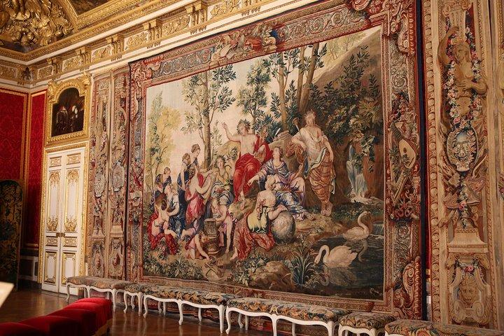Evite filas: excursão a pé pelo palácio e pelos jardins de Versalhes, Paris, França