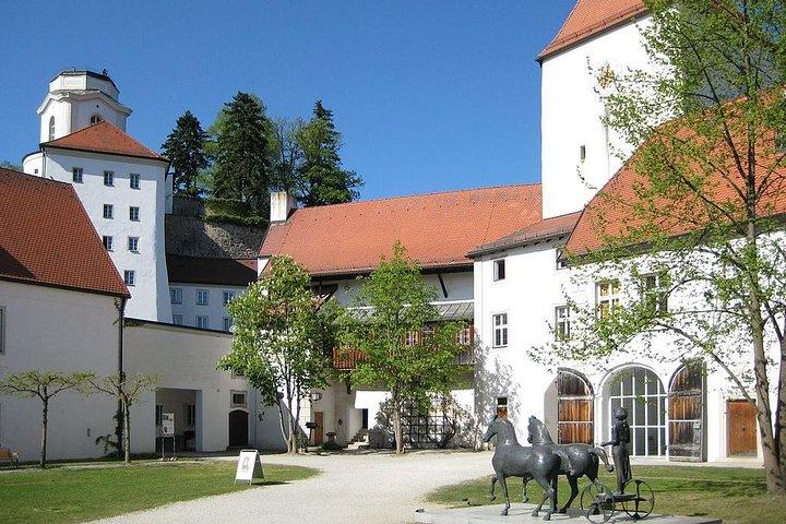 Passau - Castle tour with viewpoint Linde Battery & the St Georges Chapel, Passau, Alemanha