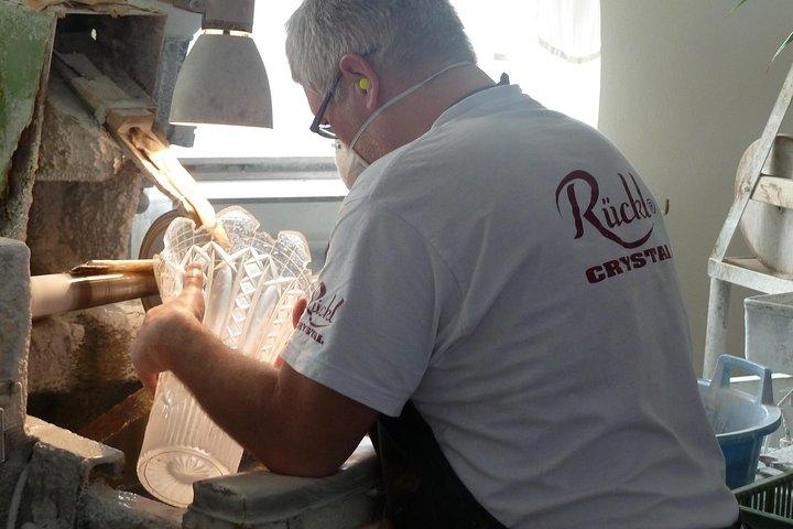 Escapada de un día a una fábrica de vidrio y de cerveza desde Praga, Praga, REPUBLICA CHECA