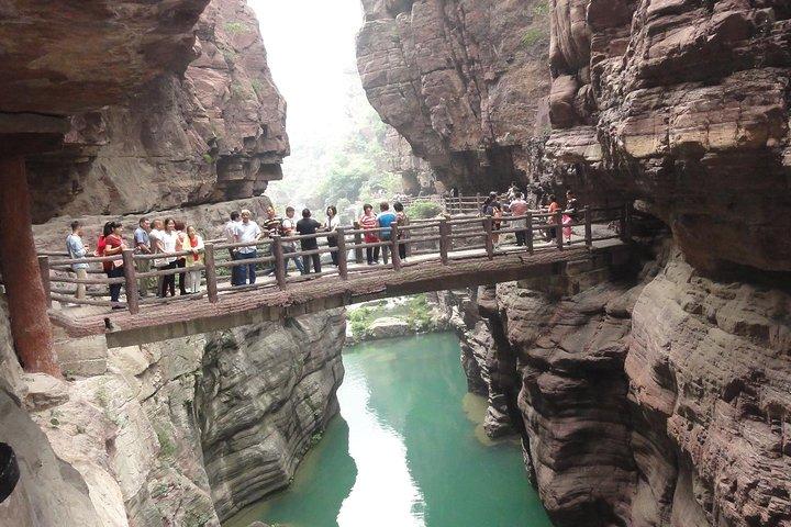 All Inclusive Private Day Tour to Yuntai Mountain from Zhengzhou, Zhengzhou, CHINA