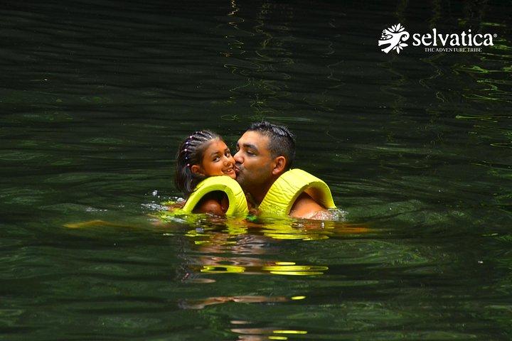 Tirolesas en la Riviera Maya + Cenote en Selvatica, Tulum, MEXICO