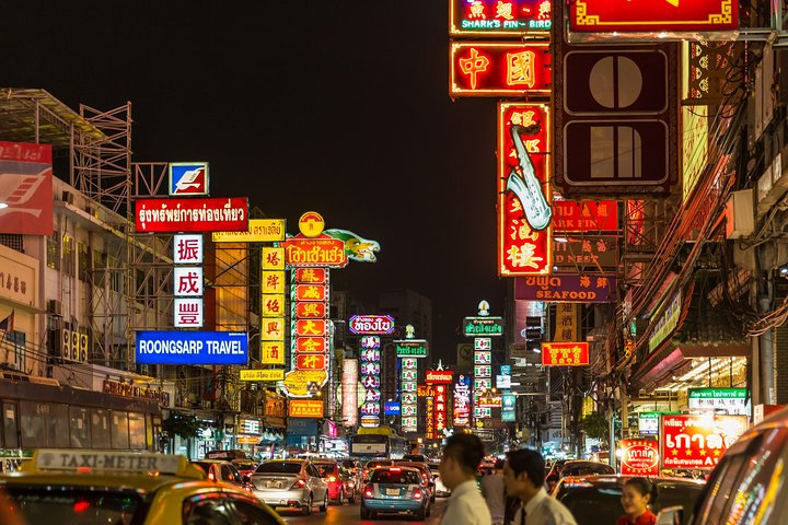 Bangkok Chinatown Eats Self-guided Walking and Eating Tour by VoiceMap, Bangkok, Tailândia
