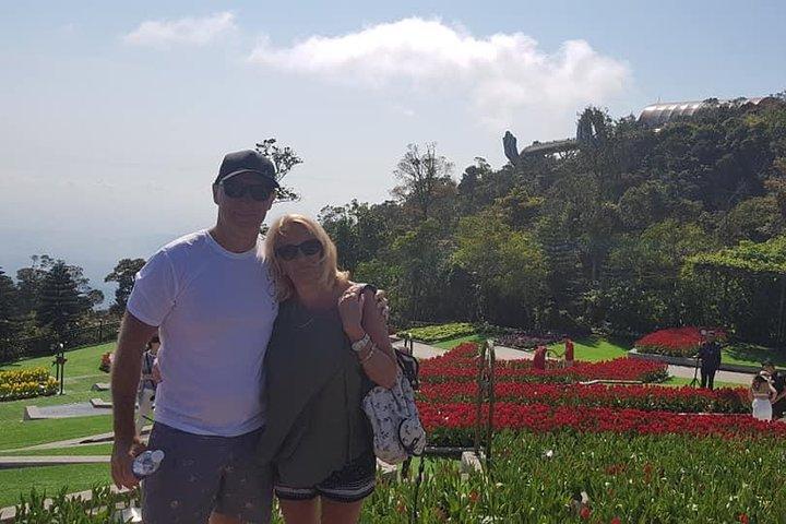 Ba Na Hill & GOLDEN BRIDGE Tour Early Morning to Avoid Crowds & Take nice Photos, Da Nang, VIETNAM