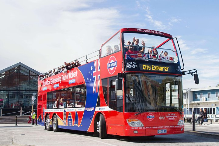Recorrido en autobús con paradas libres por Hobart, Hobart, AUSTRALIA