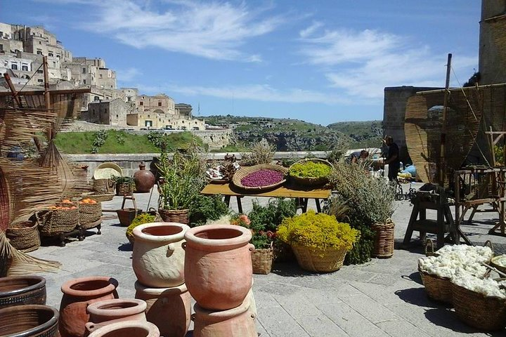 UNESCO's Alberobello and Matera from Bari, Bari, ITALY