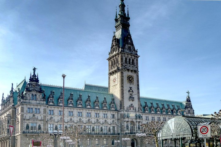Hop-on Hop-off Tour : combined City Tour by Bus and Boat, Hamburgo, ALEMANIA