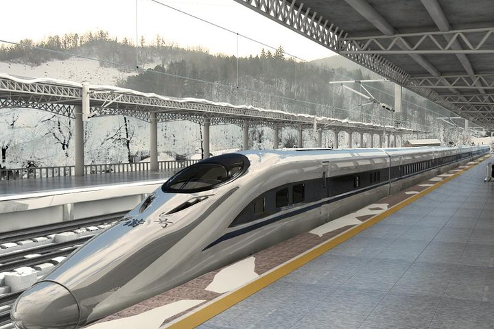 Private Tianjin Railway Station Transfer from City Hotels, Tianjin, CHINA