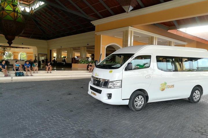 Traslado de ida: aeropuerto de Punta Cana a hoteles de Punta Cana, Punta de Cana, REPUBLICA DOMINICANA