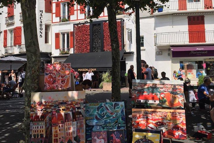 Private walking tour of Saint Jean de Luz, Biarritz, FRANCE