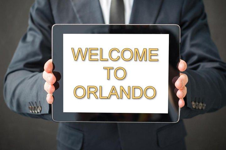 Traslado privado en Orlando: Centro Espacial Kennedy, Busch Gardens y todos los parques de Disney, Universal y SeaWorld, Orlando, FL, ESTADOS UNIDOS