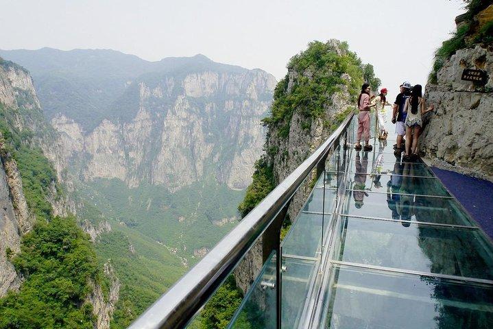 1-Way Private Transfer Service to Yuntai Mountain from Zhengzhou City, Zhengzhou, CHINA