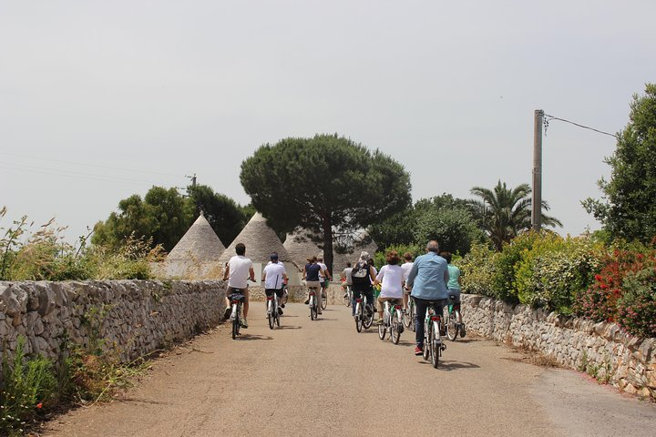 Private e-bike tour along Alberobello with lunch at local Masseria, Alberobello y Locorotondo, Itália