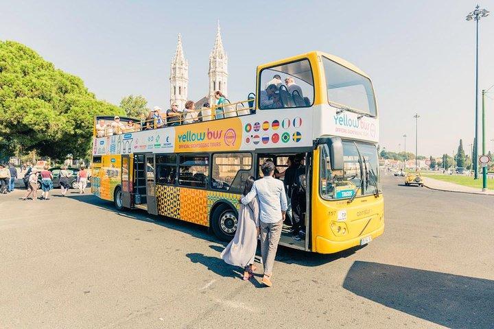 Recorrido en autobus con paradas libres y crucero por el rio en Lisboa, Lisboa, PORTUGAL