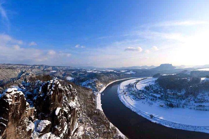 Best of Bohemian and Saxon Switzerland Day Trip from Dresden- Winter Tour, Dresden, Alemanha