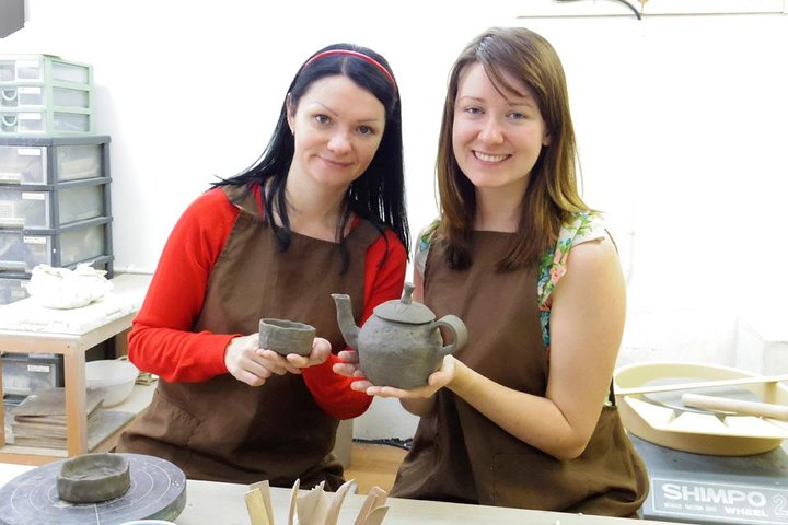 Japanese Pottery Class in Tokyo, Tokyo, JAPON
