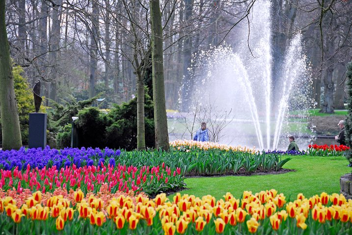 Keukenhof and Zaanse Schans guided day Tour with Amsterdam Canal Cruise, Amsterdam, HOLANDA