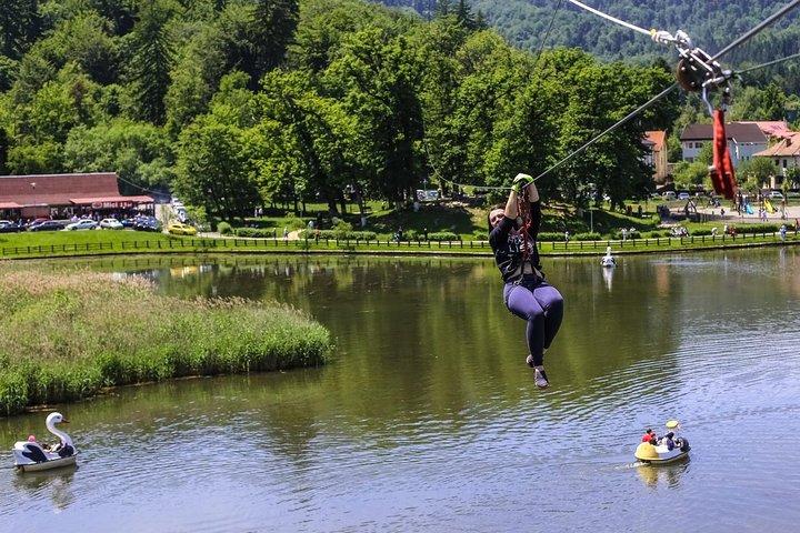 Adventures in Park Aventura Brasov, Brasov, ROMÊNIA