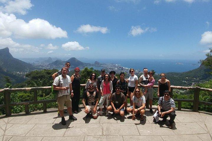 Recorrido por los principales lugares de interés de Río de Janeiro, incluidos los pasos de Cristo Redentor y Selaron, Río de Janeiro, BRASIL