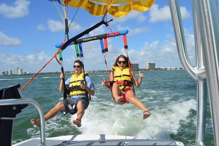 Parasailing with Miami Watersports, Miami, FL, UNITED STATES