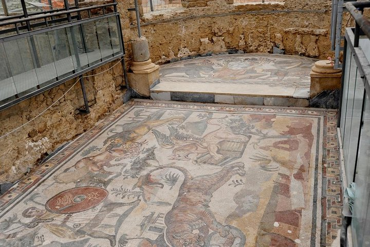 Villa Romana Del Casale in Piazza Armerina and Valley Of Temples in Agrigento, Catania, ITALIA