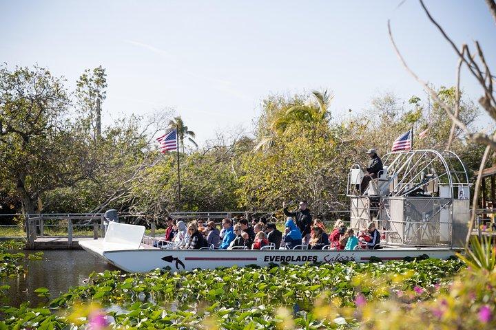 Everglades Airboat Adventure with Transport from Miami, Miami, FL, ESTADOS UNIDOS
