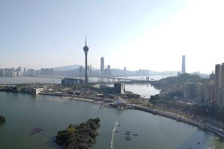 Macau Day Tour from Hong Kong via the Hong Kong, Zhuhai, Macau Bridge with Lunch, Hong Kong, CHINA