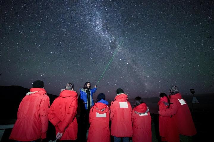 Crater Experience at Cowan's Observatory, Canterbury, NUEVA ZELANDIA