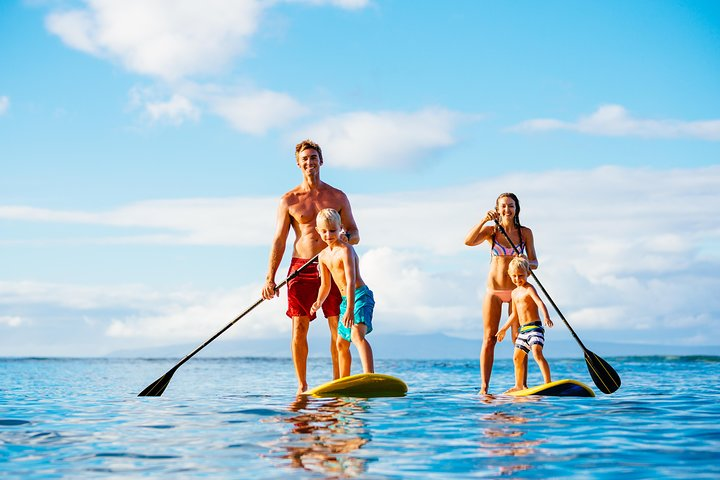 Stand up Paddle on the beautiful Noosa River with Hourly Board Hire, Noosa y Sunshine Coast, AUSTRALIA