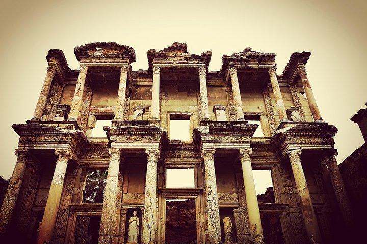 Ephesus Pamukkale Travertines House of Virgin Mary Cultural Tour ANCIENT AEGEAN, Izmir, TURQUIA
