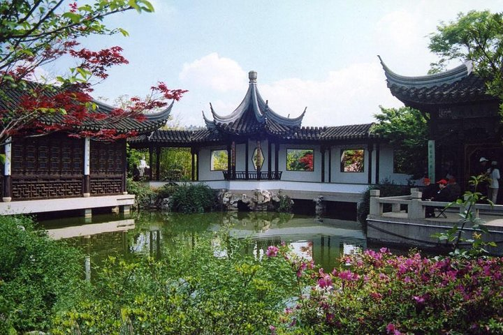 Private Suzhou and Zhouzhuang Water Village Day Trip from Shanghai, Shanghai, CHINA