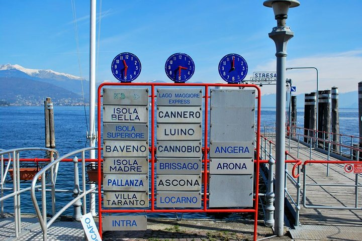 The three Borromean Islands with a private tour guide, Lago Mayor, ITALY