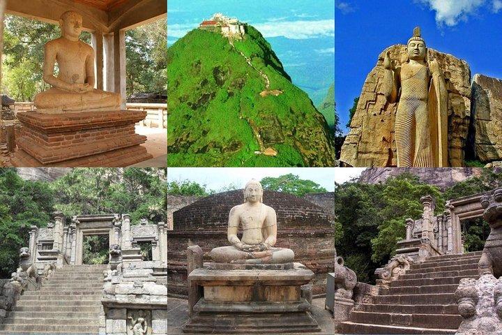Sri Lanka Cultural Tour 6D /5N with driver, vehicle and H/B accommodations, Negombo, Sri Lanka