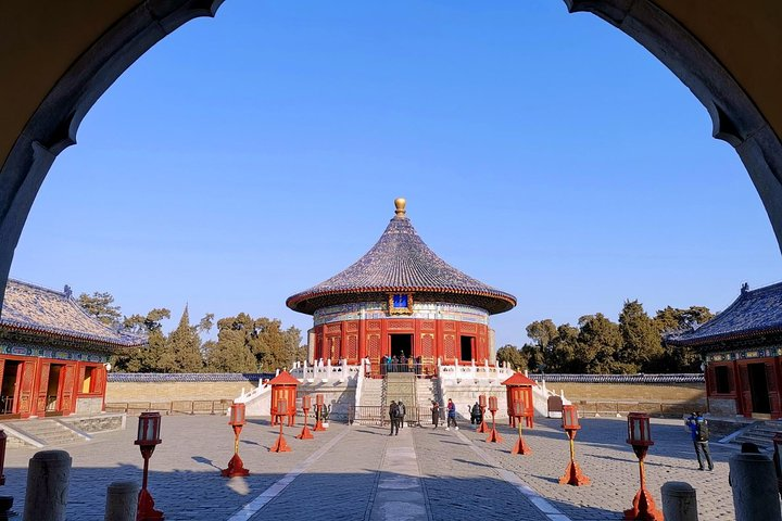 Tianjin Private Day Trip to Beijing Summer Palace and Temple of Heaven by Bullet Train, Tianjin, CHINA