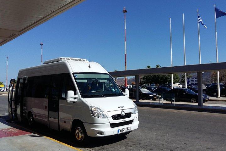 Chania Airport to Kolymbari transfer 15per-Wheechair,Scooter,Stroller Accessible, La Canea, GRECIA