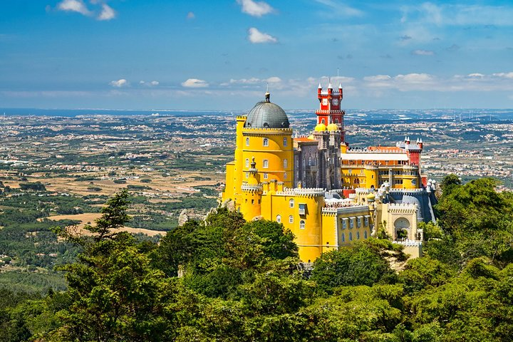Visita a los palacios de Sintra con Palacio da Pena y Quinta da Regaleira, Lisboa, PORTUGAL