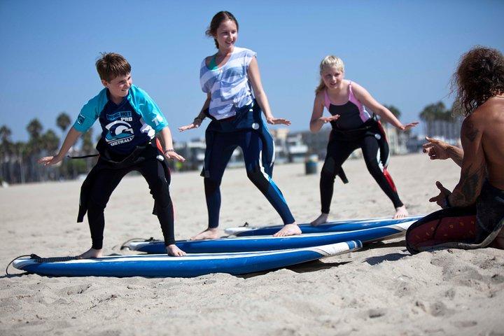 2 Hour Surf Lesson in Venice Beach, Santa Monica, CA, ESTADOS UNIDOS