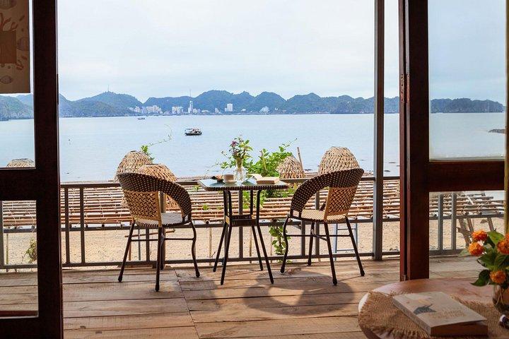 Luxury Cruise & Peaceful Resort in Halong Bay (1 Night Boat & 1 Night Bungalow), Hanoi, VIETNAM