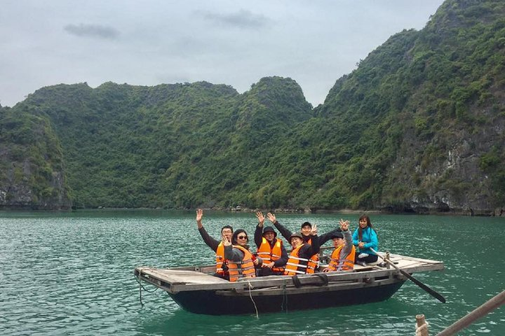 Small Group Halong Islands, Cave, Kayak. Seafood Lunch. NATIONAL EXPRESSWAY, ,