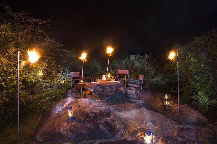 Dine in the jungle of Yala from Hambantota Habour, Parque Nacional Yala, SRI LANKA