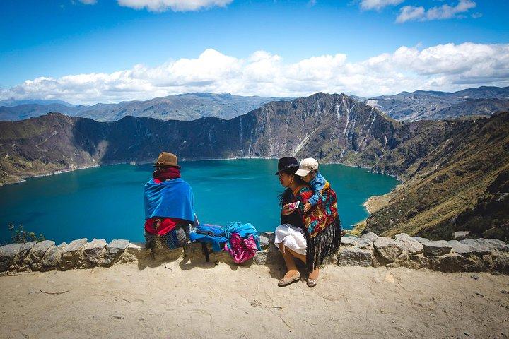 Lagoa Quilotoa e Mercados Indígenas em Um Dia saindo de Quito, Quito, Equador