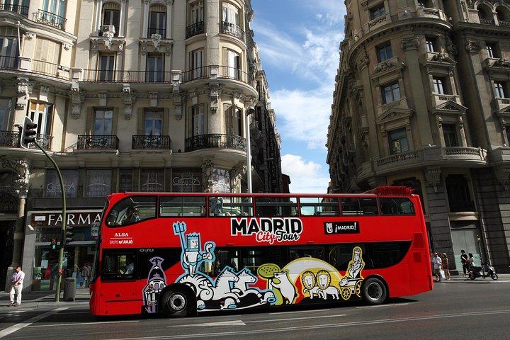Excursión por la ciudad de Madrid en autobús con paradas libres, Madrid, ESPAÑA
