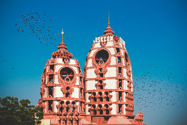 Private Delhi tour with Lotus Temple, ISKCON and Connaught Place with Dinner, Nueva Delhi, India