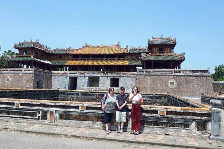 Daytrip to Hue Imperial Palace, Royal King Tomb &Perfume River via Hai Van Pass, Da Nang, VIETNAM