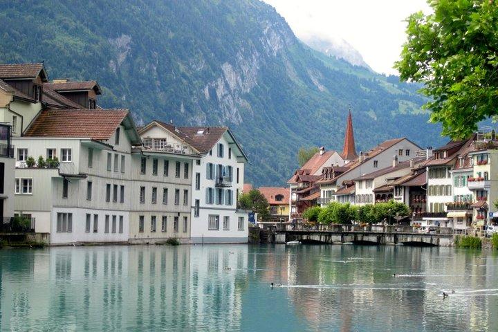 Interlaken City Tour plus Harder Mountain (Top of Interlaken) Private Tour, Interlaken, SUIZA