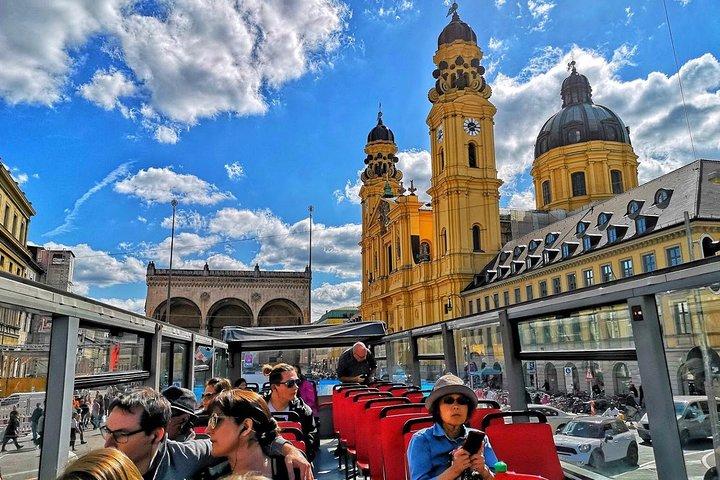Excursão panorâmica com várias paradas por Munique em ônibus de dois andares, Munique, Alemanha