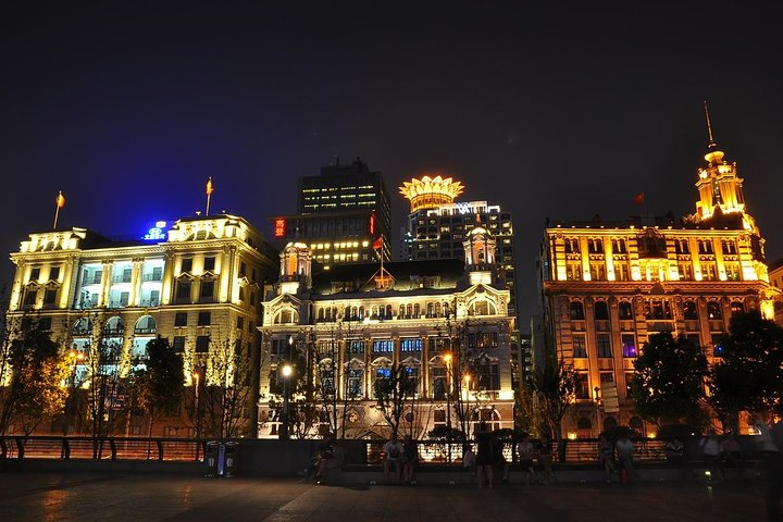 Shanghai Night River Cruise Tour with Xinjiang Style Dining Experience, Shanghai, CHINA