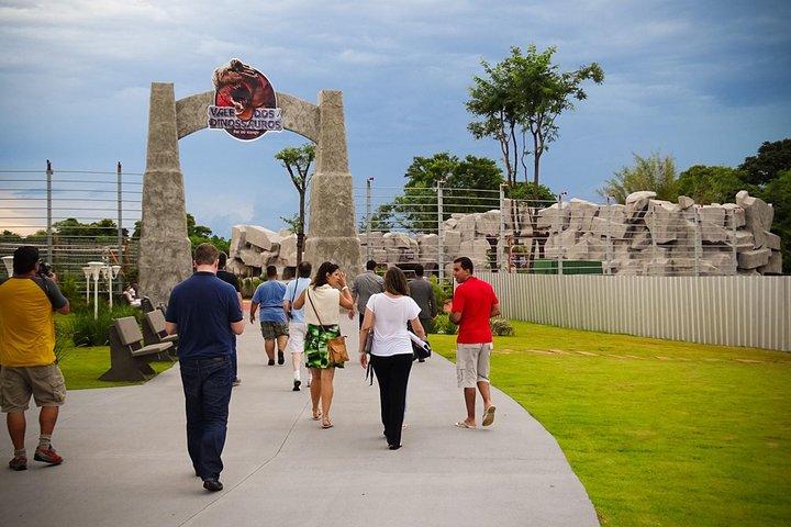 Visita a Foz de Iguazú, Ecomuseo, Maravillas del mundo, el museo de cera y el Parque de dinosaurios, Puerto Iguazú, ARGENTINA