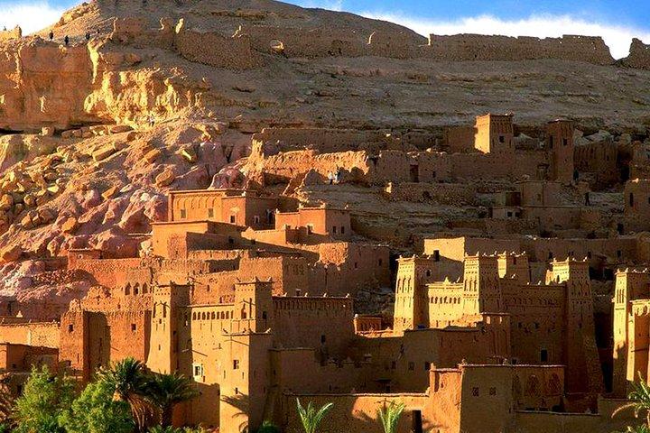 Viagem diurna para as Montanhas Atlas, três vales e vilas berberes, saindo de Marraquexe, Marrakech, cidade de Marrocos, MARROCOS